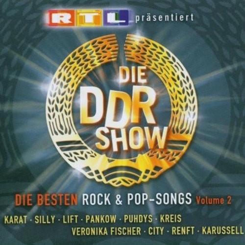 20030913_Die DDR-Show –Die besten Rock und Pop-Songs Vol. 2_Cover_500x500