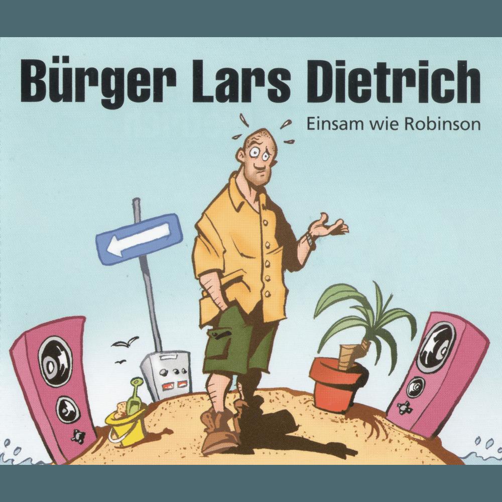 19990924_BürgerLarsDietrich–EinsamwieRobinson_Cover_1000x1000