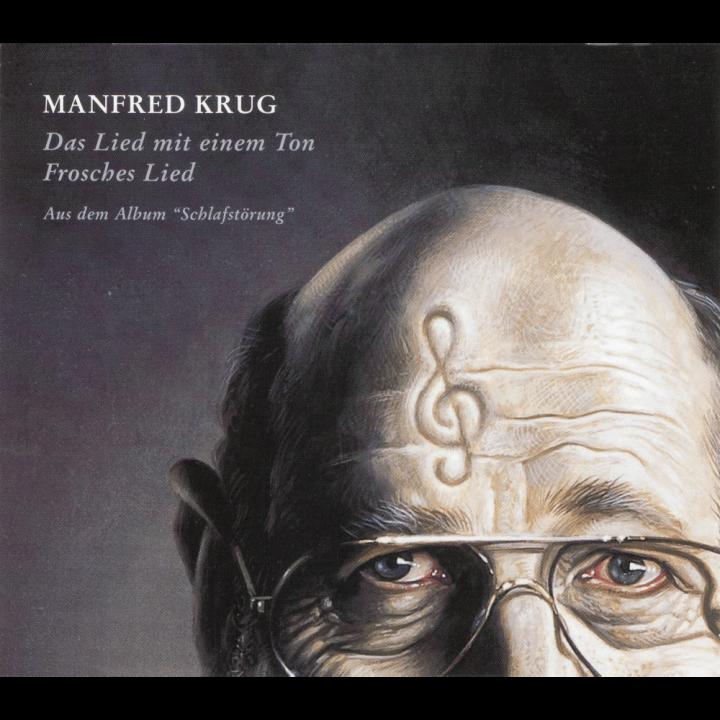 Manfred Krug – Das Lied mit einem TonFroschesLied_Cover_1000x1000